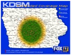 Fox 17 Iowa coverage map